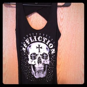 Blinged Affliction tank.